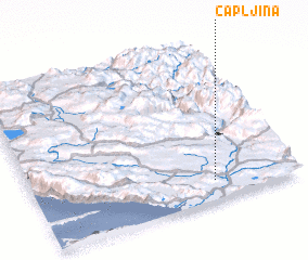 3d view of Čapljina