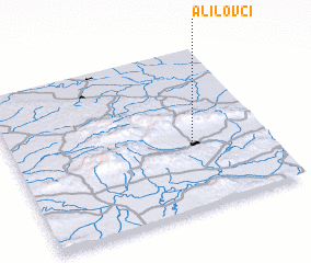 3d view of Alilovci