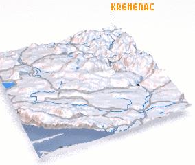 3d view of Kremenac