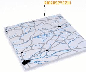 3d view of Pieruszyczki