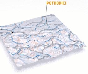 3d view of Petkovići