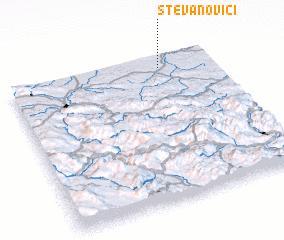 3d view of Stevanovići