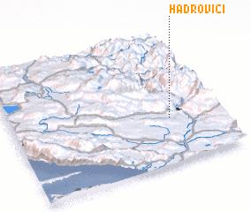 3d view of Hadrovići