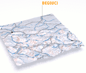3d view of Begovci