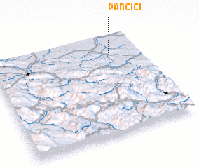 3d view of Pančići