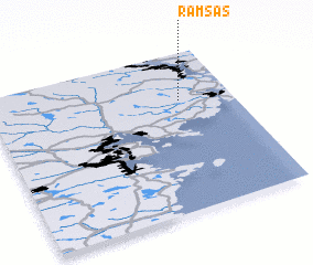3d view of Ramsås