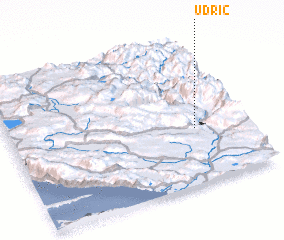 3d view of Udrić
