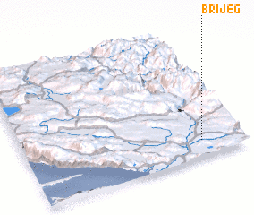 3d view of Brijeg