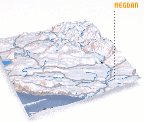 3d view of Megdan