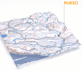 3d view of Pijesci