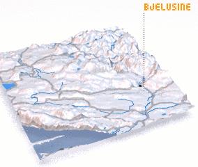 3d view of Bjelušine