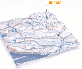 3d view of Lukšije