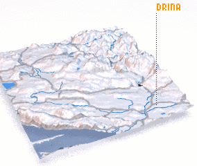 3d view of Drina