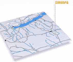 3d view of Simonfa