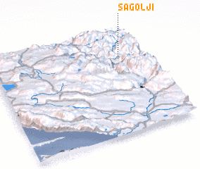 3d view of Šagolji