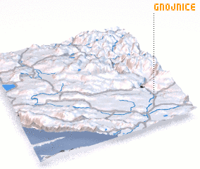 3d view of Gnojnice