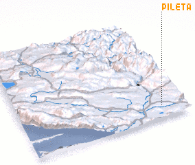3d view of Pileta