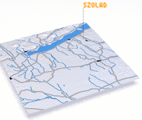 3d view of Szólád