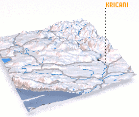 3d view of Kričani
