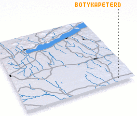 3d view of Botykapeterd
