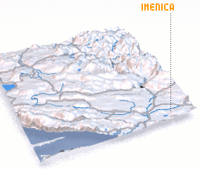 3d view of Imenica