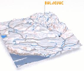 3d view of Baljevac