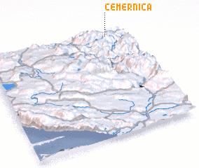 3d view of Čemernica