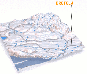 3d view of Dretelj
