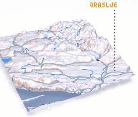 3d view of Oraslje
