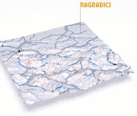 3d view of Nagradići