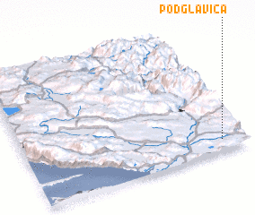 3d view of Podglavica