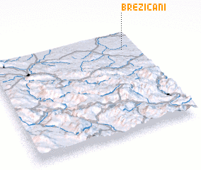 3d view of Brezičani