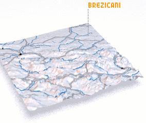 3d view of Brezičani