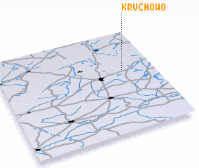 3d view of Kruchowo