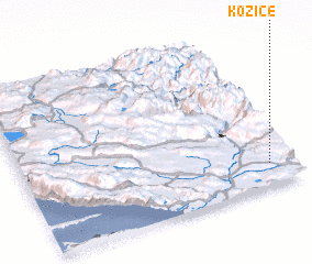 3d view of Kozice