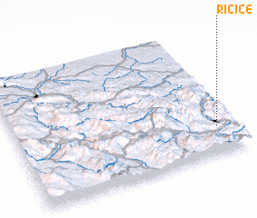 3d view of Ričice