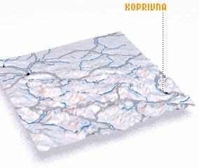 3d view of Koprivna