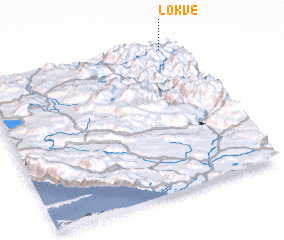 3d view of Lokve