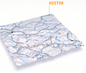 3d view of Kostur