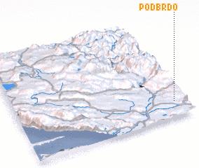 3d view of Podbrdo