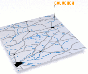 3d view of Gołuchów