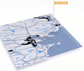 3d view of Hornön