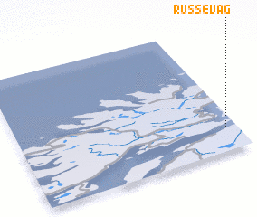 3d view of Russevåg