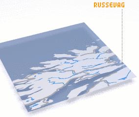 3d view of Russevåg