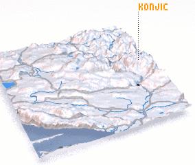 3d view of Konjic