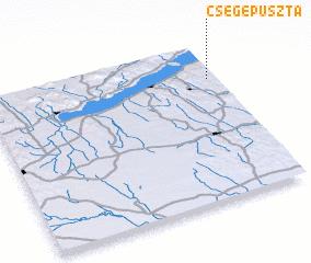3d view of Csegepuszta