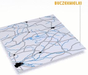 3d view of Buczek Wielki