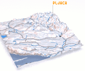 3d view of Pljaca