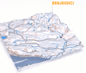 3d view of Brajkovići