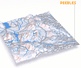 3d view of Peebles
